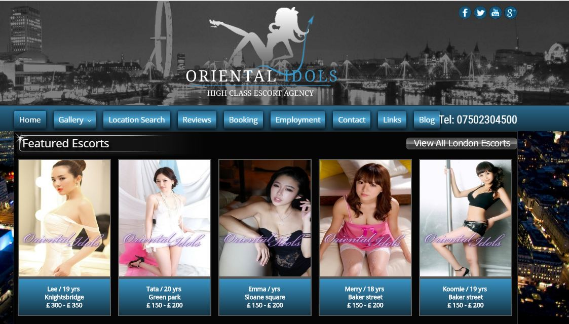 Join Our Agency to become a Successful Asian Escort in London