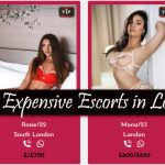 Most Expensive Escorts in London